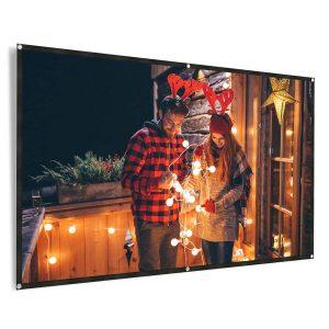 REIDEA 100 Inch 4K Projector Screen