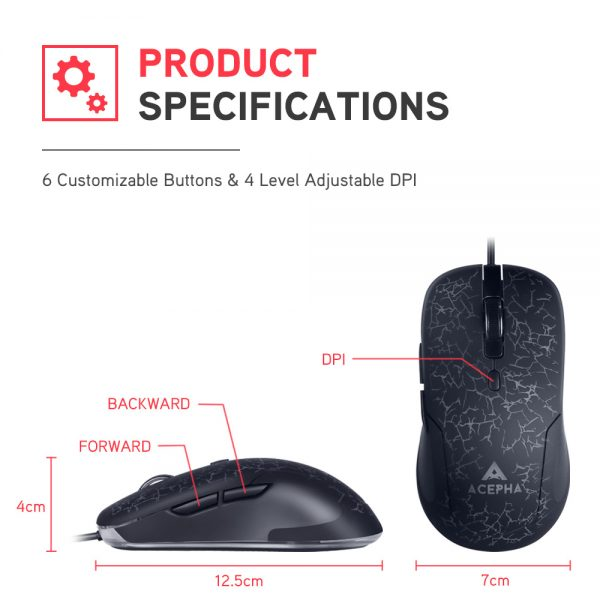 ACEPHA M998 Gaming Mouse